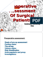 Preoperative Assessment Gad Editted