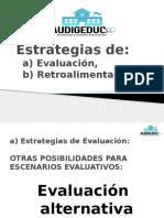 9.3 Estrategias de Evaluación y Retroalimentación