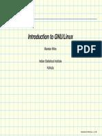 Gnu Linux by Dr. Mandar Mitra