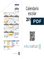 Calendario Escolar 2016 2017 Cuadernillo
