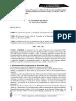 Anibal Santillan. Martes de Ley. Resolucion No. 211-14 Que Aprueba El Convenio No. 183, Sobre Protección de La Maternidad 2000,