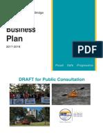 RCMB annual business plan 2017-18