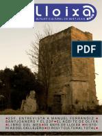 LLOIXA. Número 139, març/marzo 2011. Butlletí informatiu de Sant Joan. Boletín informativo de Sant Joan.