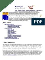 Data Modeling 101