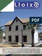 LLOIXA. Número 140, abril 2011. Butlletí informatiu de Sant Joan. Boletín informativo de Sant Joan