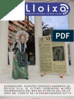 LLOIXA. Número 143, septiembre/setembre 2011. Butlletí informatiu de Sant Joan. Boletín informativo de Sant Joan