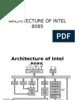 Architecture of Intel 8085