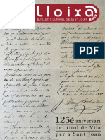 LLOIXA. Número 132, juliol/julio 2010. Butlletí informatiu de Sant Joan. Boletín informativo de Sant Joan. Autor
