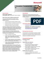 Operator Training and Simulation Fundamentals Distillation Operation