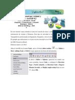 Crear Una Poligonal Por Azimute y Distancia - ArcGIS 9.2