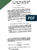 Decreto 6440 30 Marco 1907 Regulamento Polícia Do DF