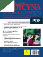 Medycyna Metaboliczna - 2017, tom XXI,  nr 1-2