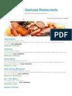 Fish Seafood Restaurants BizHouse.uk
