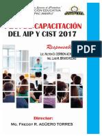 Plan de Capacitación del Aula de Innovación Pedagógico  2017 I.E. TUPAC AMARU - TAPUC