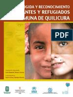 Thayer 2014 Plan de Acogida y Reconocimiento de Mirantes y Refugiados en Quilicura