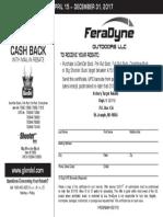 GlenDel Online Rebate