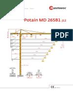 Potain MD 265 B1 J12