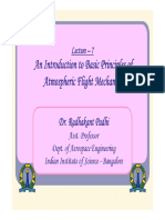 How things fly - Principles of flight - Lecture.pdf