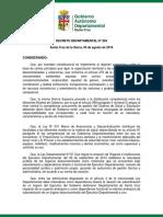 Reglamento de Organización y Funcionamiento de Hospitales de Tercer Nivel