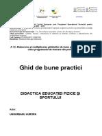 02 Didactica Educatiei Fizice Si Sportului - Ungureanu Aurora