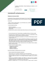 Administración de Medicamentos, Enfermería, Revistas Médicas, Salud2