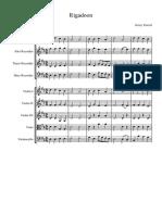 Rigadoon - Full Score