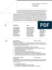 Retail Manager CV Template Example 3 2 Page