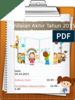 Jadual P4 2015