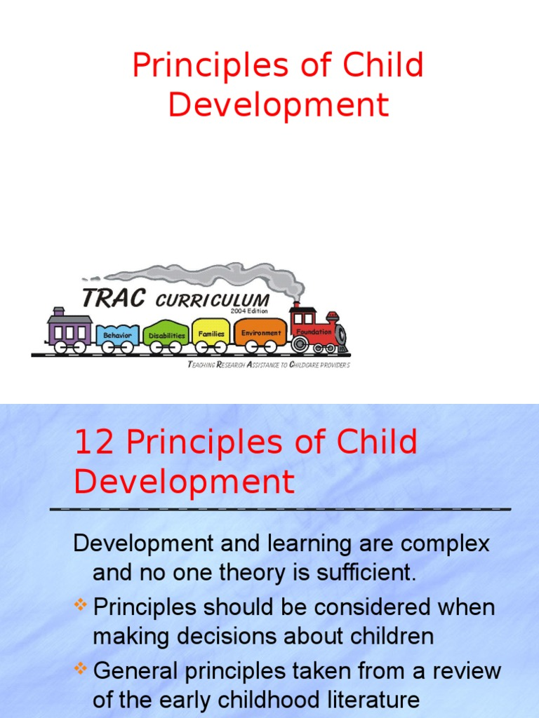 10 principles of early childhood education