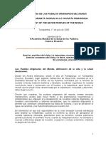 2005-DeclaracionDeLosPueblosOriginariosDelMundo