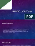 Presentación Club Lectura (umineko y konosuba)