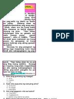 Localized Reading Materials in Filipino