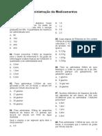 Bizu 4 - Calculo de Medicamentos