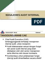 Bab 7 Manajemen Audit Internal