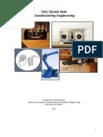 CNC Machining Manual