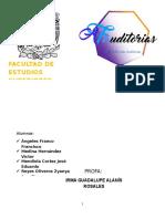 Informe Auditoria Administracion Liderazgo y Toma de Decisiones