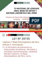 Documento Nacional de Lenguas Originarias (1)