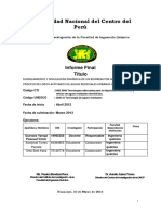 Informe Final Investigacion 2013