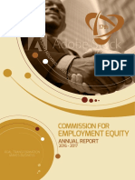 Commission for Employment Equity Report 2017