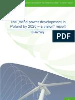 Wind Power Development in Poland by 2020