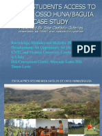 Jose Caetano Guterres' 2011 Power point presentation relating to his paper on the Remote School ub Ossu