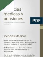 Licencias Medicas y Pensiones