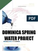 Executive Dominica Water