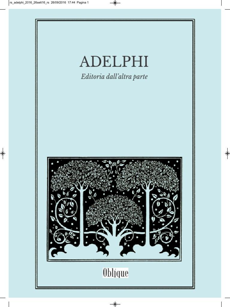 Adelphi editoria dallaltra parte fandeluxe Gallery