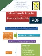Deberes y Derechos Del Medico-Deberes y Derechos Del Paciente