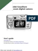 Manual Camara Kodak Cx7330 Ingles