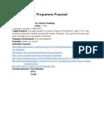 radioassignment1-christmasprogrammeproposal