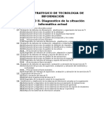 PETI Estructura - Capitulo II - Diagnostico TI