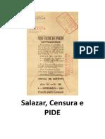 Salazar, Censura e PIDE