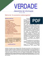 A VERDADE 014 - Portugal uma economia submergente